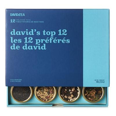 David's Top 12 Tea Sampler