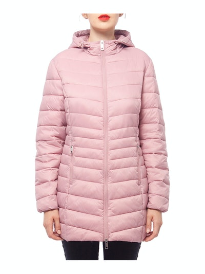 Hooded Water-Resistant Puffer Jacket