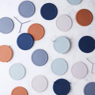 Minimalist Silicone Coasters & Stand