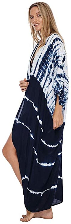 SHU-SHI Tie-Dye Cover-Up Kimono