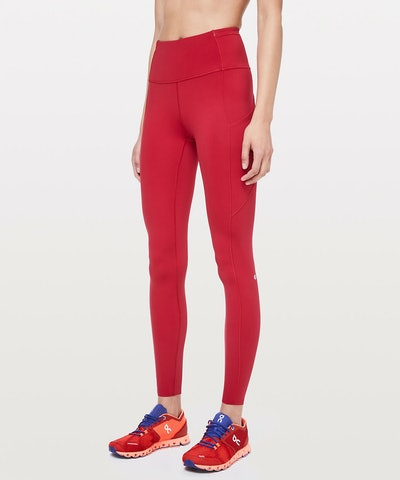 """Lululemon Fast and Free Tight 28"""" Non-Reflective"""