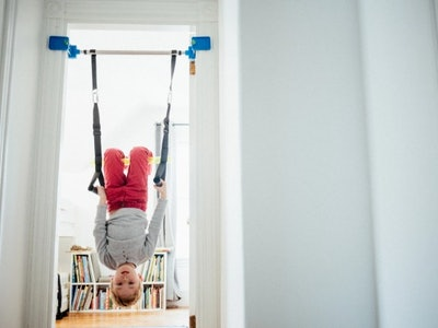 kid on the b4Adventure swing