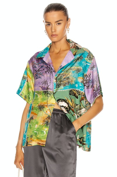 Hawaiian Patchwork Shirt