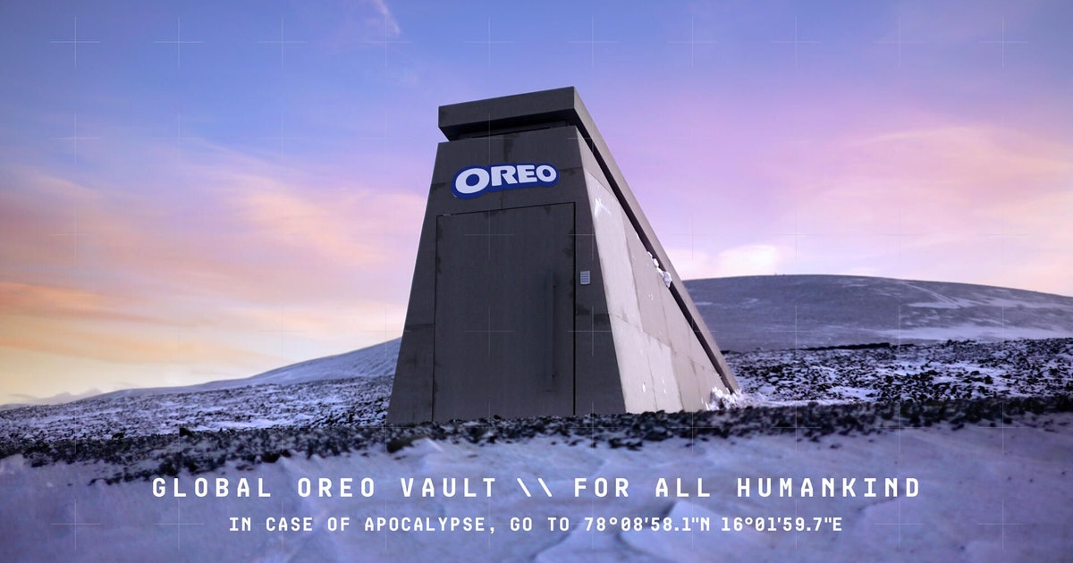 Oreo built a doomsday vault in Norway to preserve its cookies for generations to come
