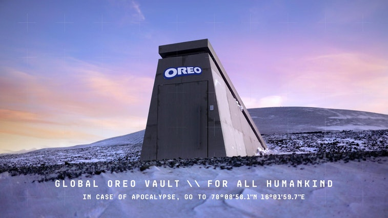 Oreo created a vault in Norway to preserve its cookies against disaster.