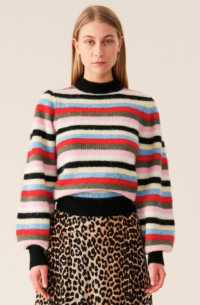 Soft Wool Knit Pullover