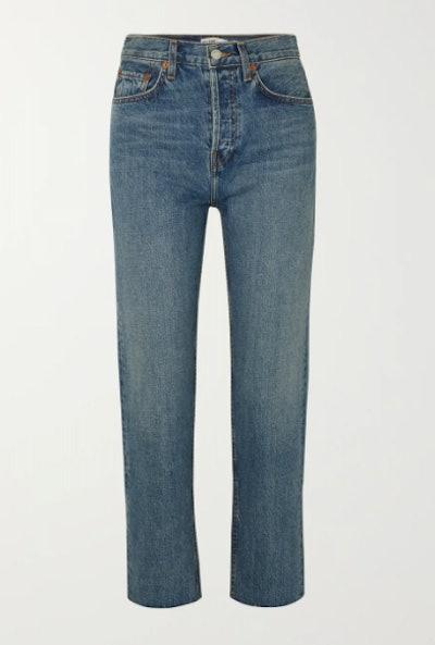 Originals Stove Pipe High-Rise Straight-Leg Jeans