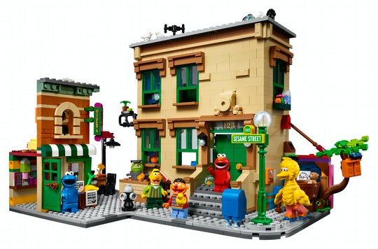 LEGO Ideas 123 Sesame Street set