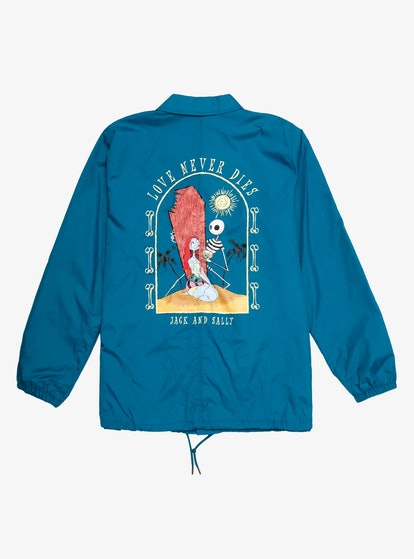 BoxLunch Our Universe Disney The Nightmare Before Christmas Summer Love Never Dies Coach's Jacket