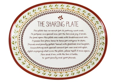 Ceramic Sharing Plate by Celebrate It™ Thanksgiving