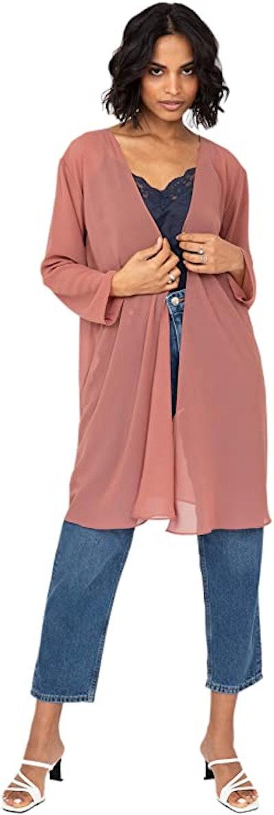 likemary Sheer Cardigan