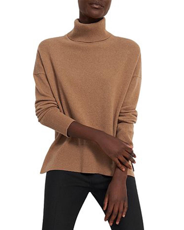 Karenia Cashmere Turtleneck Sweater