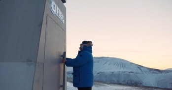 Oreo created a vault in Norway to store its cookies in case of a natural disaster.