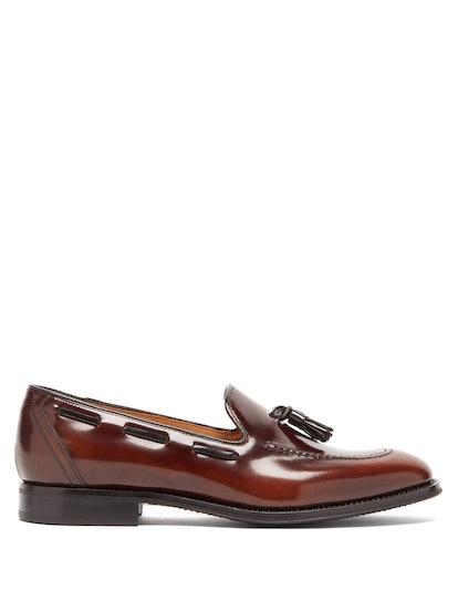 Kingsley Tasselled Leather Loafers
