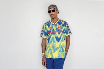 Adidas Pharrell Humanmade Arsenal Jersey