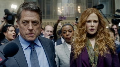 Nicole Kidman as Grace and Hugh Grant as Jonathan in HBO's 'The Undoing' via the HBO press site
