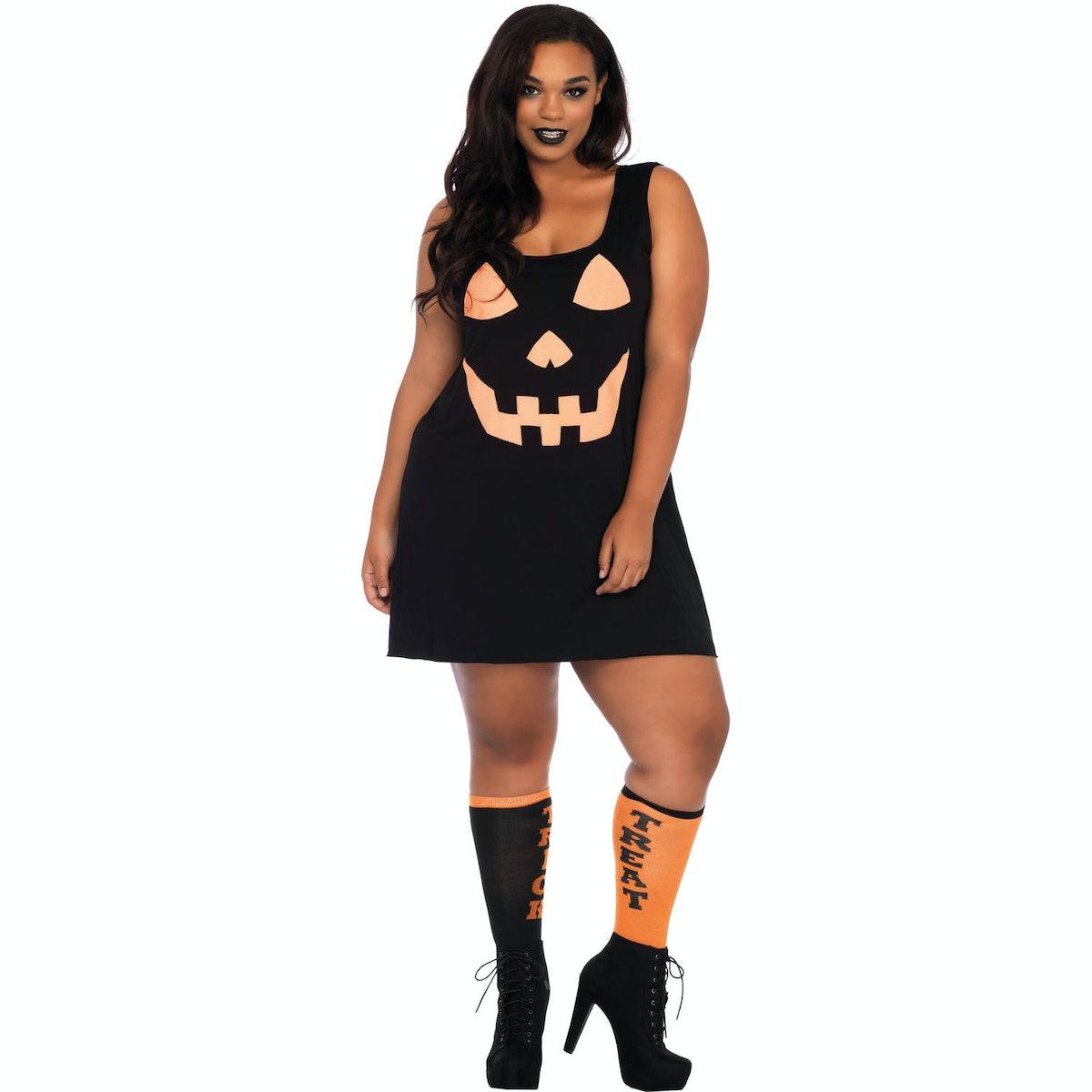 Leg Avenue Womens Plus Size Pumpkin Dress