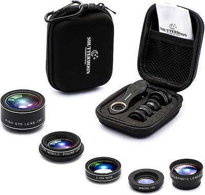 Shuttermoon Phone Camera Lens Kit