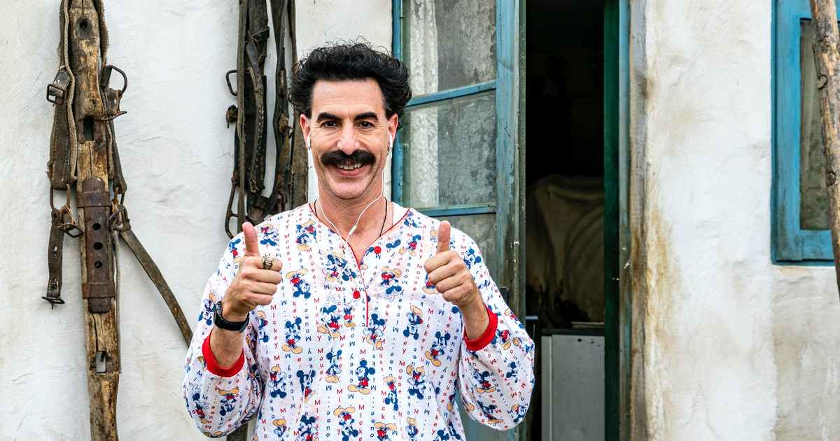 Celebrity Tweets About 'Borat 2' Are Very Nice — Just Not For Rudy Giuliani