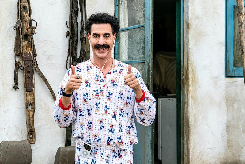 Sacha Baron Cohen as Borat in 'Borat Subsequent Moviefilm'