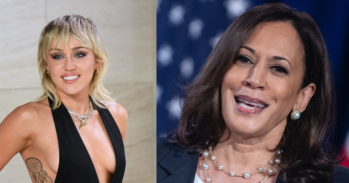 Miley Cyrus' Interview With Kamala Harris On IG Got Into Everything From Politics To Music
