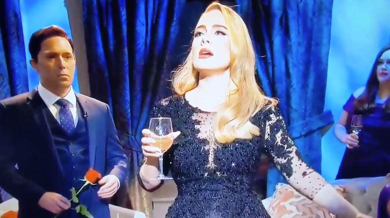 Adele in the 'SNL' 'Bachelorette' Oct. 24 skit.