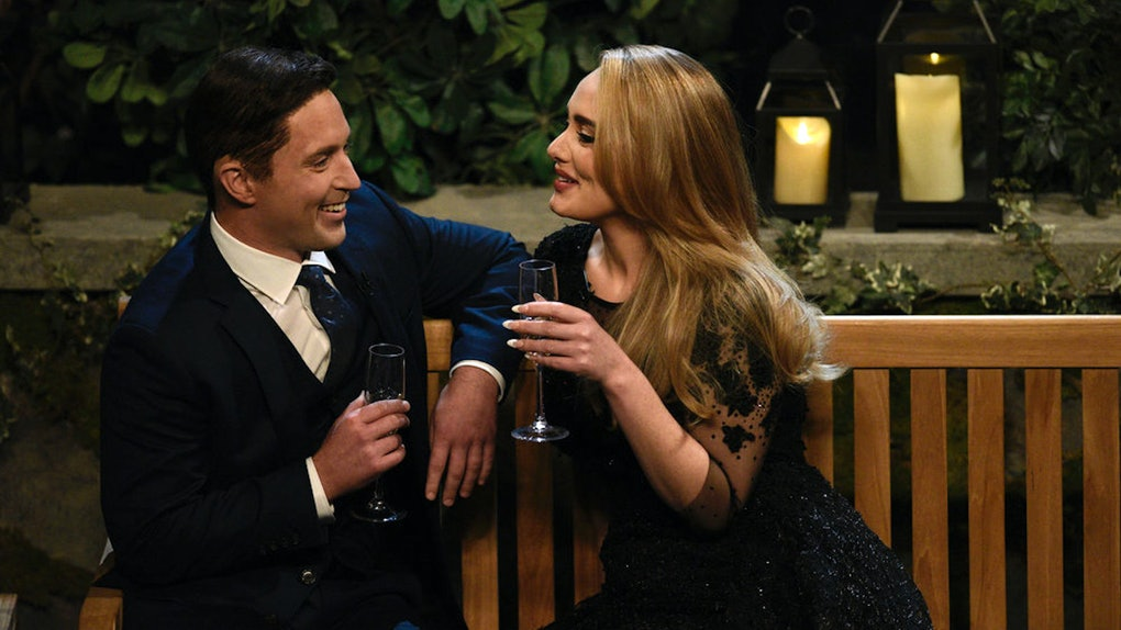 Adele turned 'The Bachelor' into a concert on 'Saturday Night Live.'