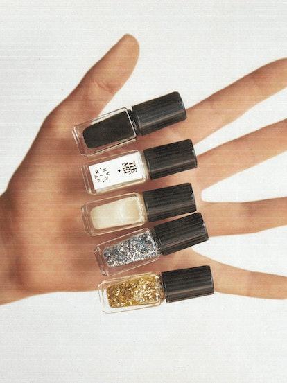 All five J.Hannah x The Met nail polish colors.