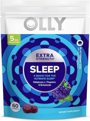 OLLY Extra-Strength 5mg Melatonin Gummies (60-Count)