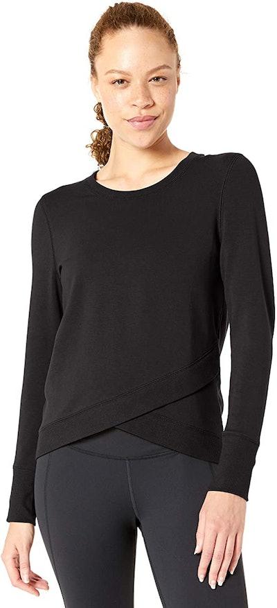 Core 10 Soft Cotton Yoga Sweatshirt