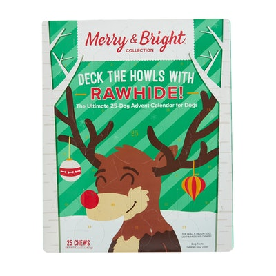 Merry & Bright™ Holiday Deck The Howls with Rawhide Advent Calendar