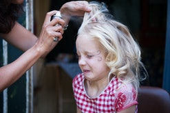 The ingredients in hair color spray sound scary, but are they safe to use for your kids on Halloween?