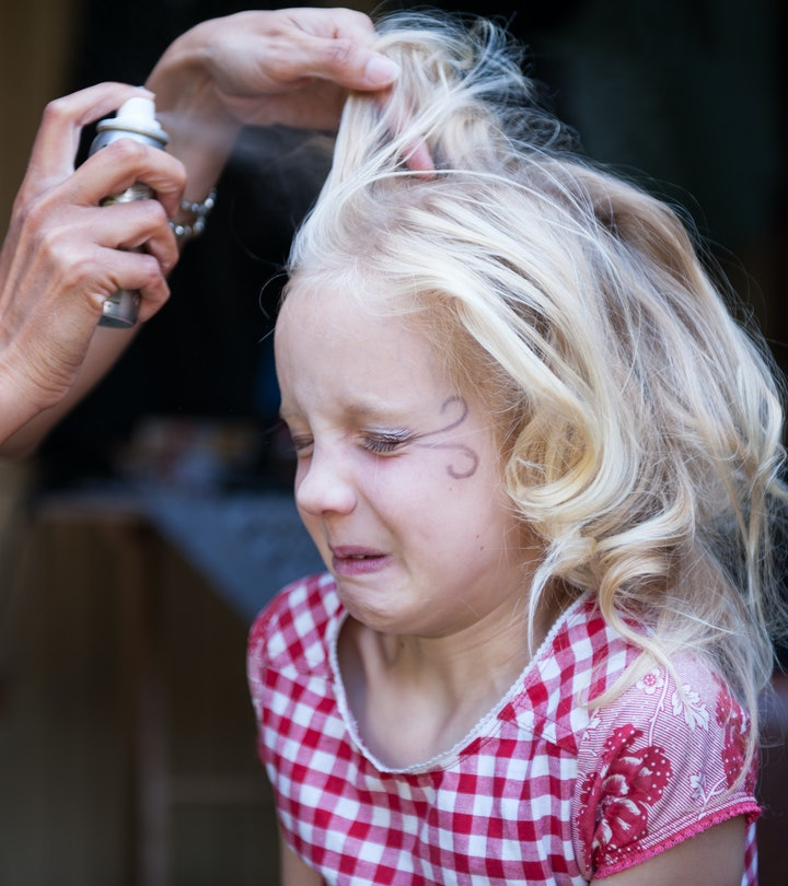 The ingredients in hair color spray sound scary, but are they safe to use for your kids on Halloween...