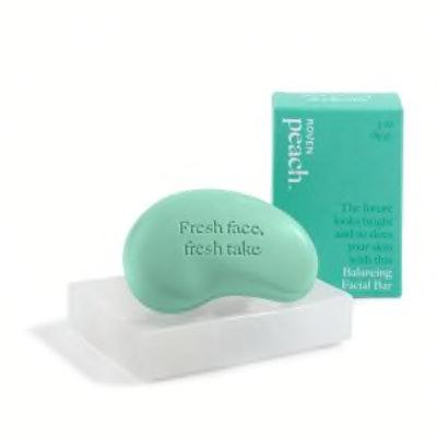 Balancing Facial Cleansing Bar + Stone Soap Dish Set