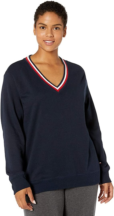 Tommy Hilfiger Long Sleeve Pullover Logo Sweater
