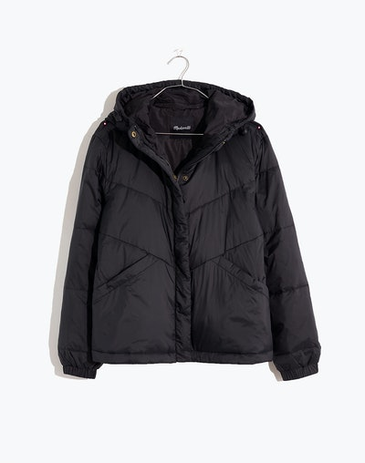 Madewell Plus Size Chevron Packable Puffer Jacket