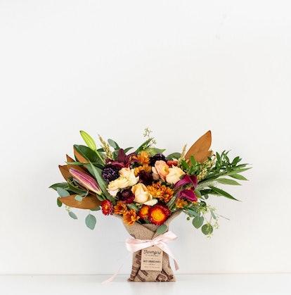 Fun Size Burlap Wrapped Bouquet