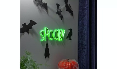 Spooky sign