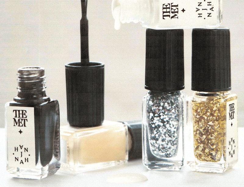 J.Hannah x The Met nail polish shades.