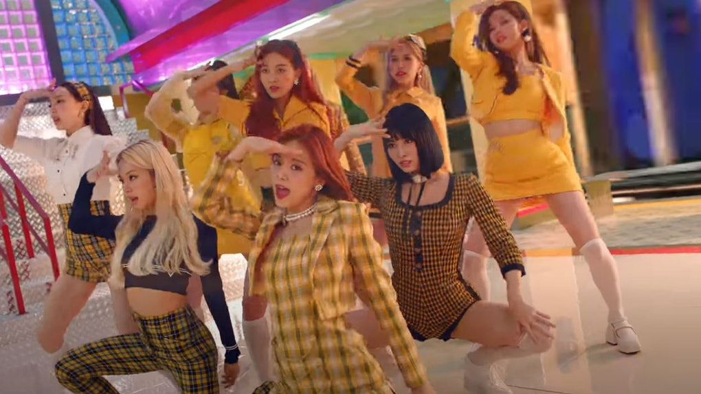 "TWICE's ""I Can't Stop Me"" music video"
