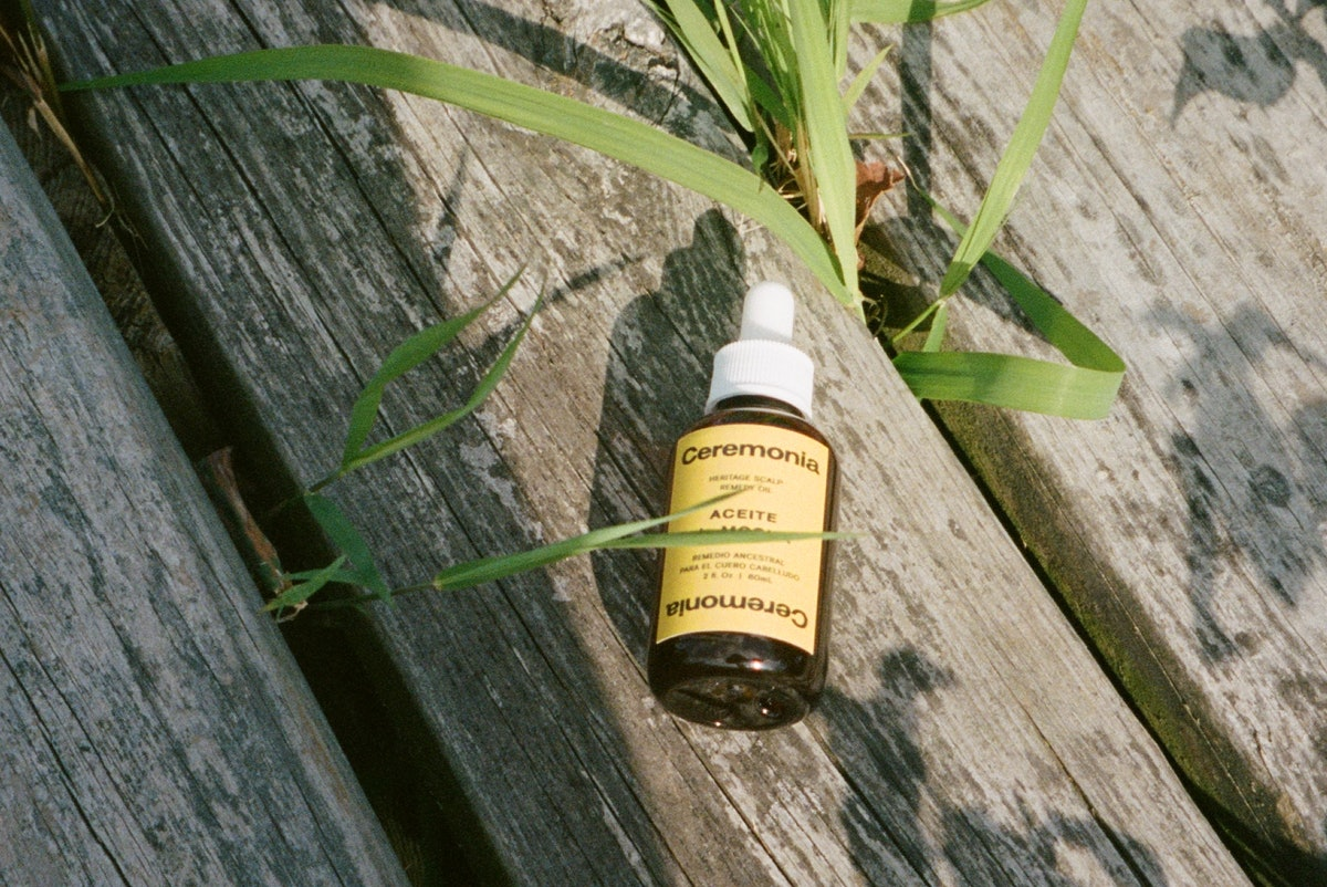 The first product from Ceremonia is a scalp care formula.