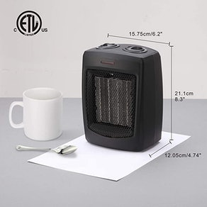 andily Electric Space Heater