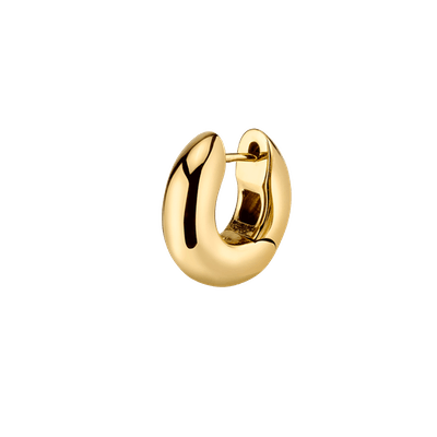 Gold Wide Hoop