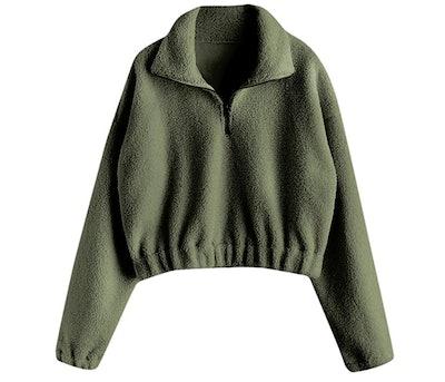 ZAFUL Quarter Zip Pullover