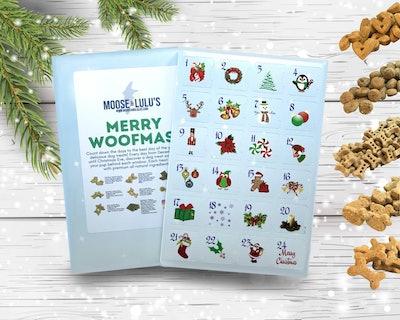 Moose And Lulus Dog Treat Advent Calendar