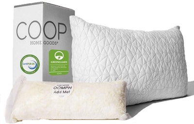 Coop Home Goods Premium Adjustable Loft Pillow
