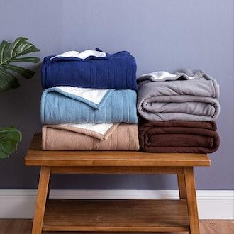 Bedsure Heated Throw Blanket