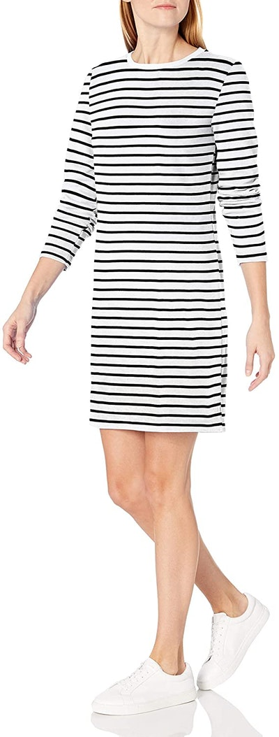 Amazon Essentials Long-Sleeve Above-the-Knee Dress