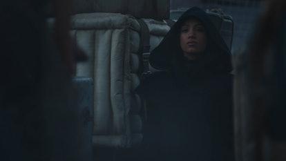 Sabine Wren in 'Mandalorian' Season 2, via Disney+ press site.