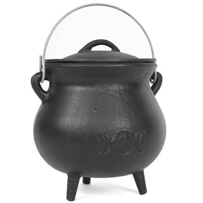Cast Iron Witch Cauldron